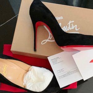 Christian Louboutin Suede Women Shoes